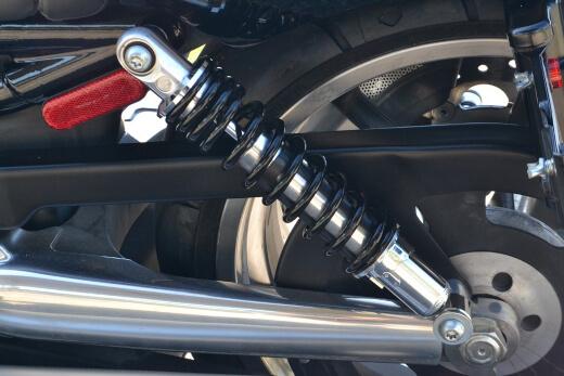 motorcycle suspension repair