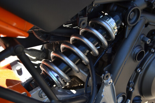 what is a motorcycle suspension